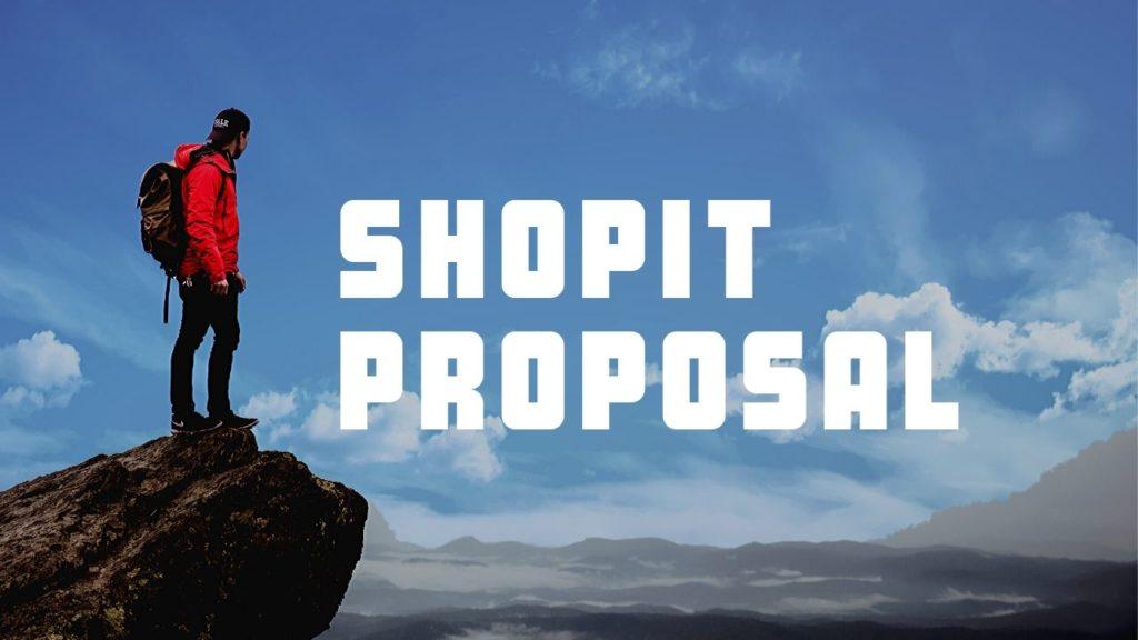 Shopit Proposal