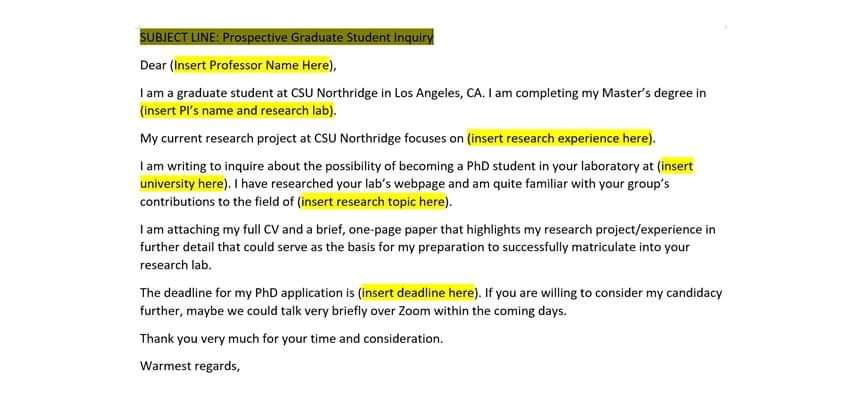 email format for csc